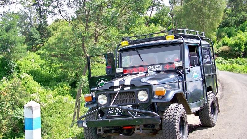 Indonésie - Jeep Bromo